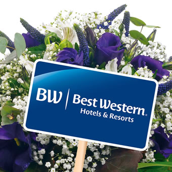 Best Western bouquet