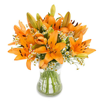 Surprise bouquet Orange