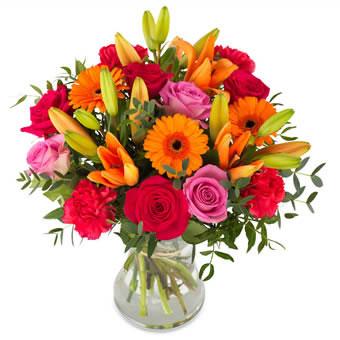 bouquet de fleurs geant san francisco lucky and colourful bestseller bouquet