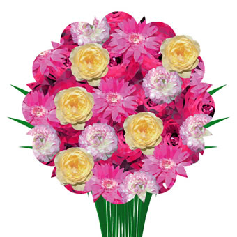 Valentine Surprise Bouquet