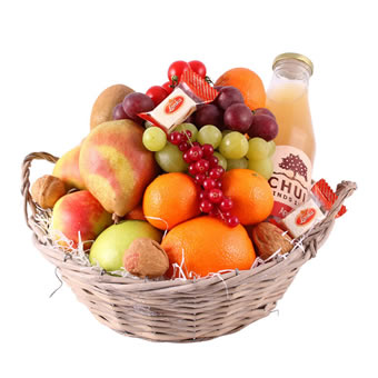 Luxurious fruit hamper