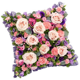 Funeral decoration pillow