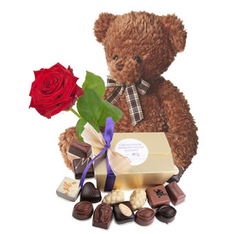 Teddy love giftset
