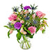 Bright blooms bouquet