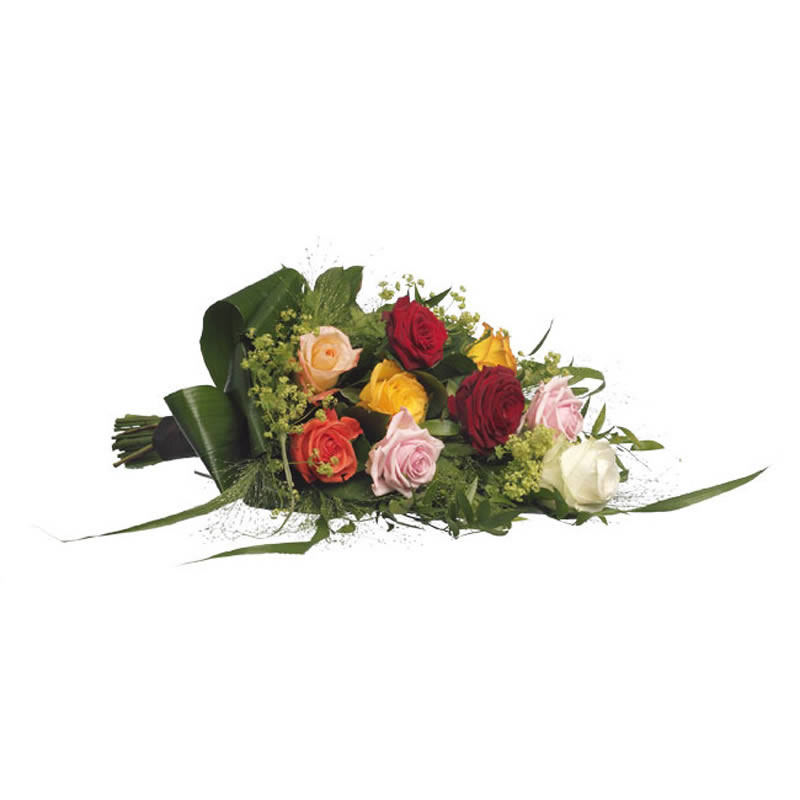 Funeral bouquet mixed