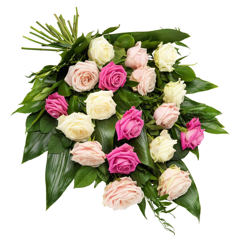Funeral bouquet rose mix