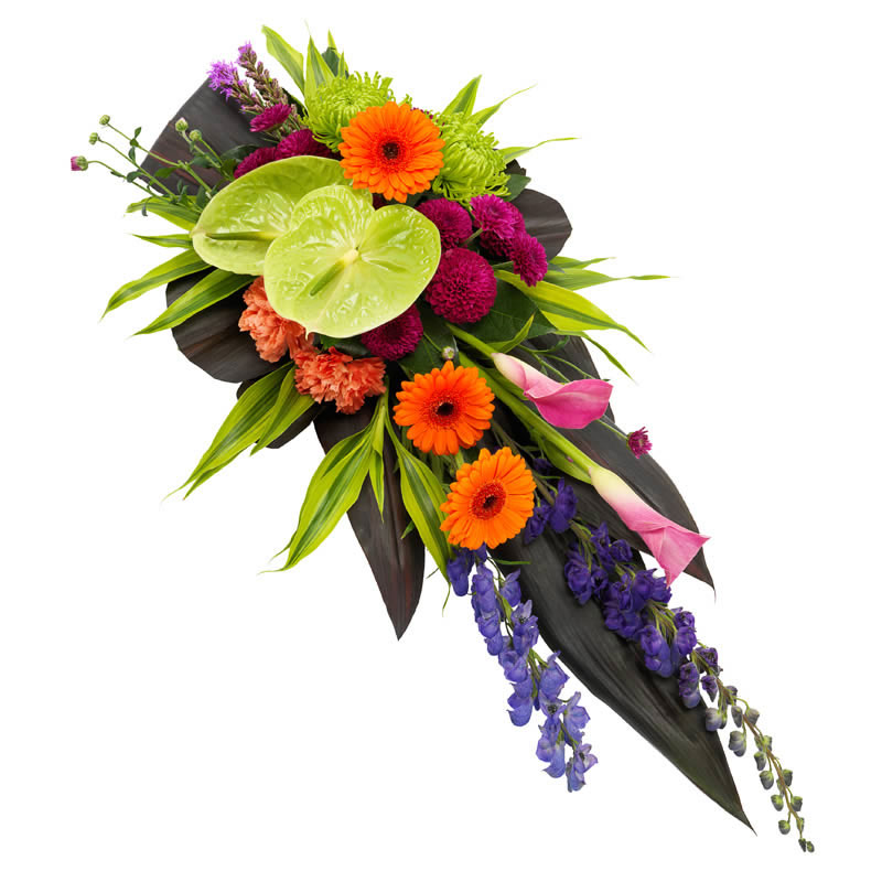 Vibrant Funeral Spray