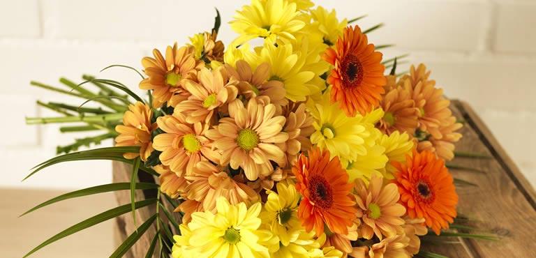 Gele bloemen versturen