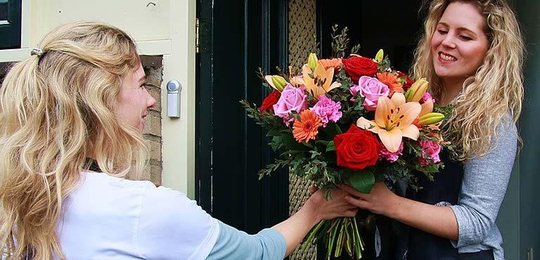 Bloemen bezorgen Apeldoorn
