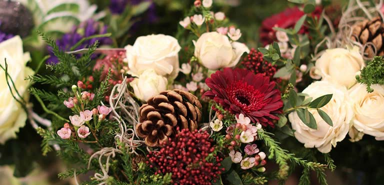 Verstuur winterbloemen