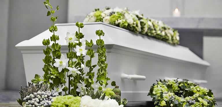 Order Funeral arrangements