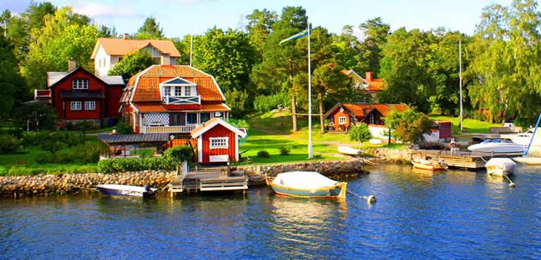 Bloemen bezorgen in Zweden