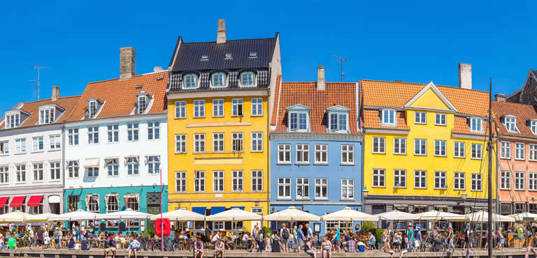 Bloemen bezorgen in Denemarken