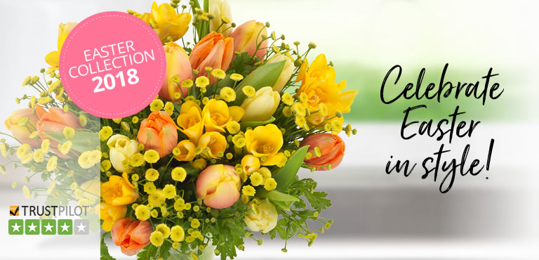 Deliver Easter flowers