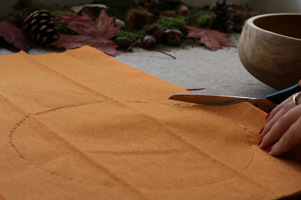 Halloween snoep stap 2