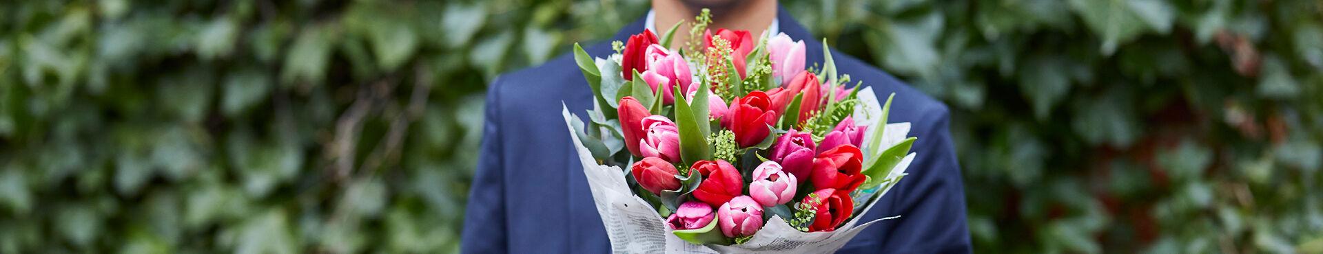 Tulpen: verzorging en styling