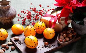 Kerststerren met chocolade