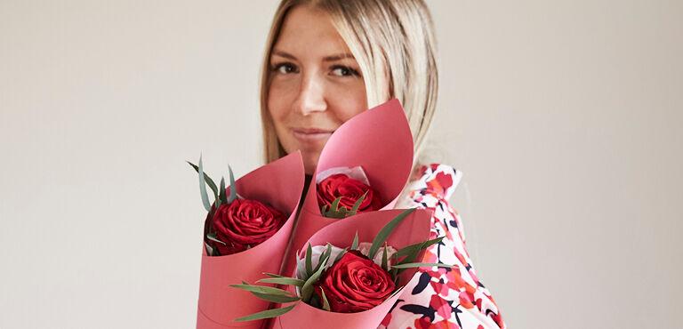 Bij Euroflorist kun je gemakkelijk rode rozen bestellen en laten bezorgen.