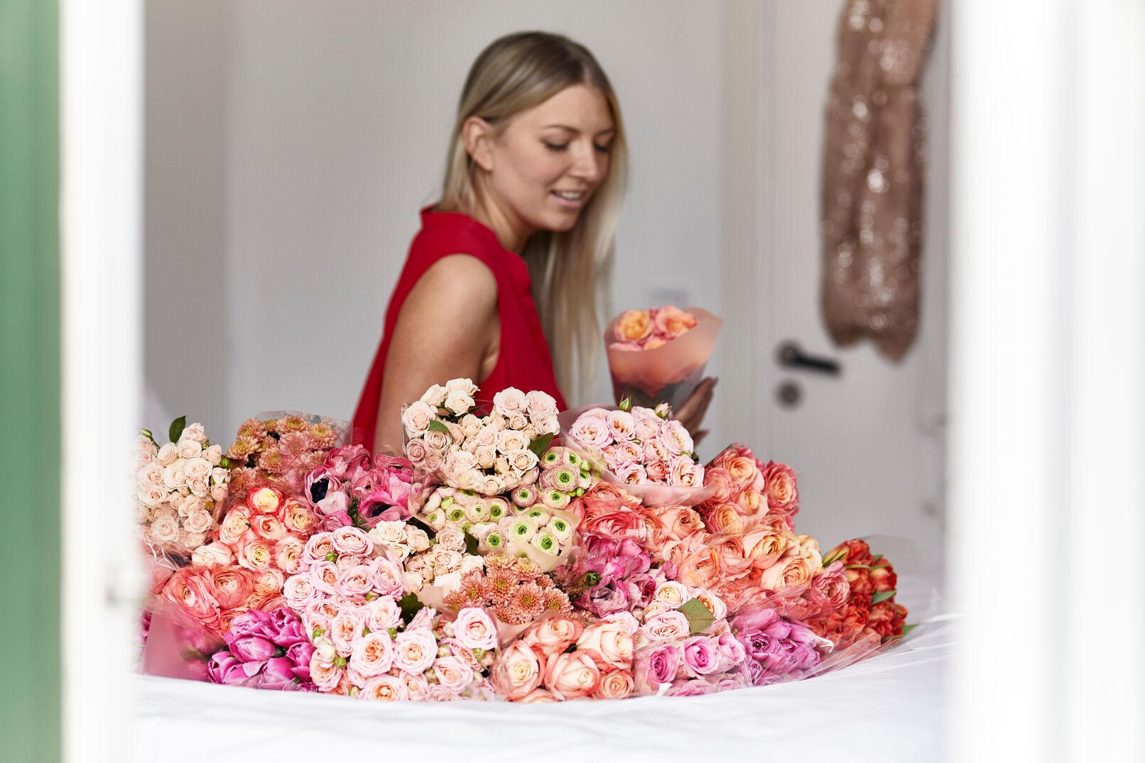 Liefdesbloemen traditie